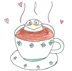 Glubsch im Kaffee