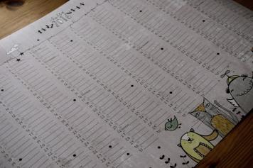 Wandkalender von Herr Pfeffer