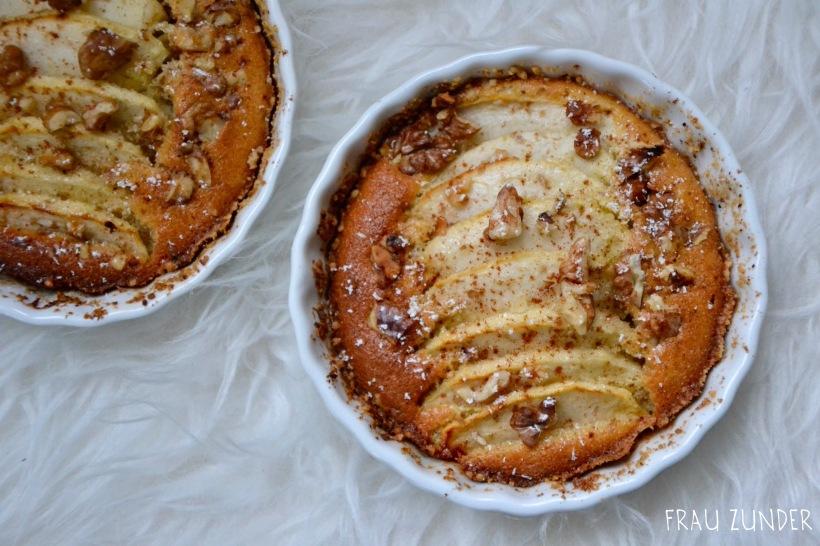 Rezept für Winter-Apfel-Tartelettes mit Zimt und Ahornsirup